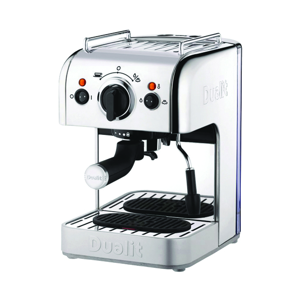 Coffee Maker Dualit 3in1 Coffee Machine 15 Bar Pressure DA8440