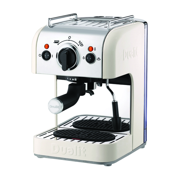 Coffee Maker Dualit 3in1 Coffee Machine 15 Bar Pressure DA4443