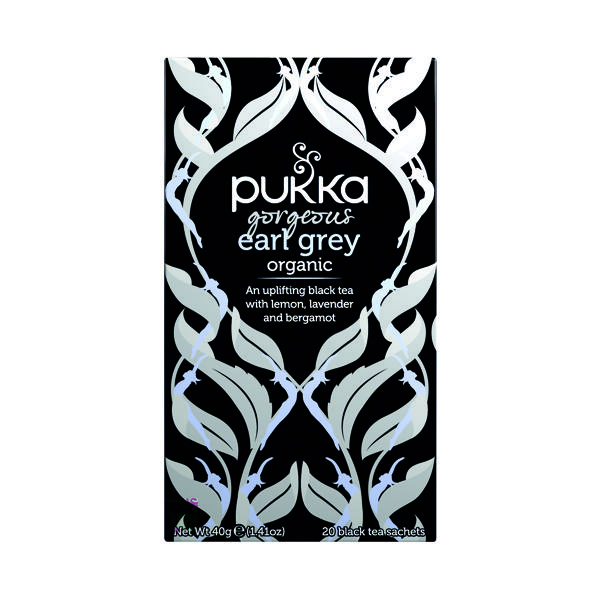 Pukka Gorgeous Earl Grey Fairtrade Tea (20 Pack) P5052