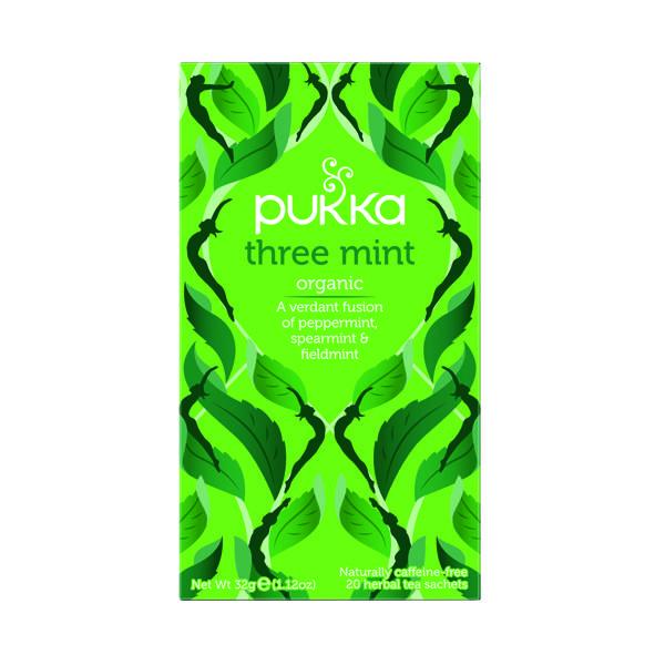 Tea Pukka Three Mint Tea (20 Pack) P5025