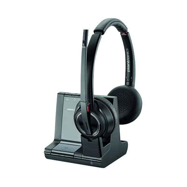 Plantronics Savi 8220 Wireless Headset Binaural UC 207325-12