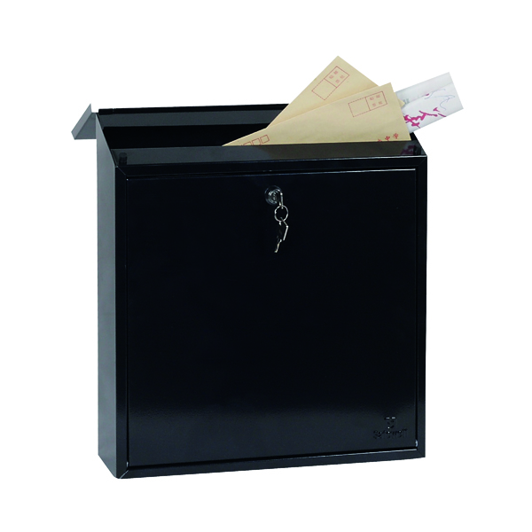 Phoenix Casa Top Loading Mail Box Black MB0111KB