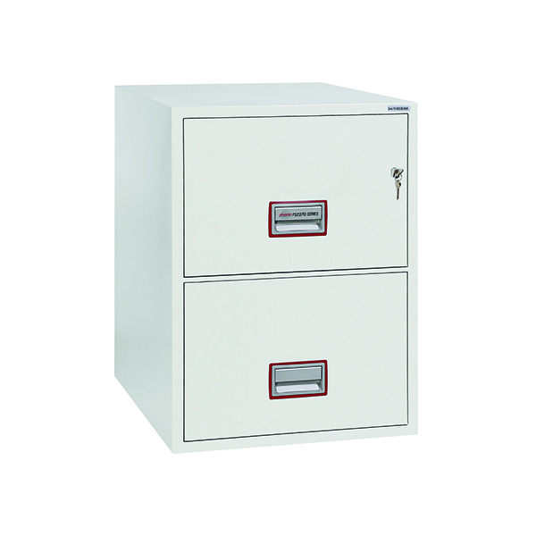 Safes Phoenix FS2272K Fire File 2 Drawer Key Lock FS2272K
