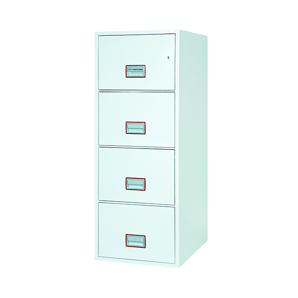 Safes Phoenix FS2274K Fire File 4 Drawer Key Lock FS2274K