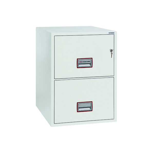 Safes Phoenix 2 Drawer 90 Minute Fire Rated Filing Cabinet FS2252K