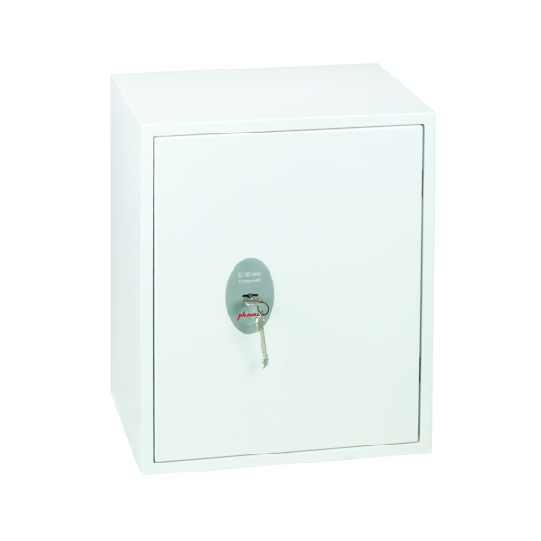 Safes Phoenix Fortress Fortress High Security Burglary Safe White SS1183K