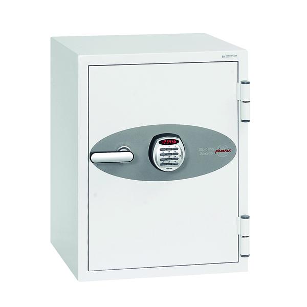 Safes Phoenix Data Combi White Safe Size 2 DS2502E