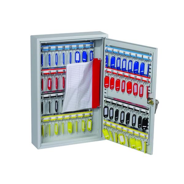 Key Cabinets Lockable 64 Hook Key Cabinet KC0602K