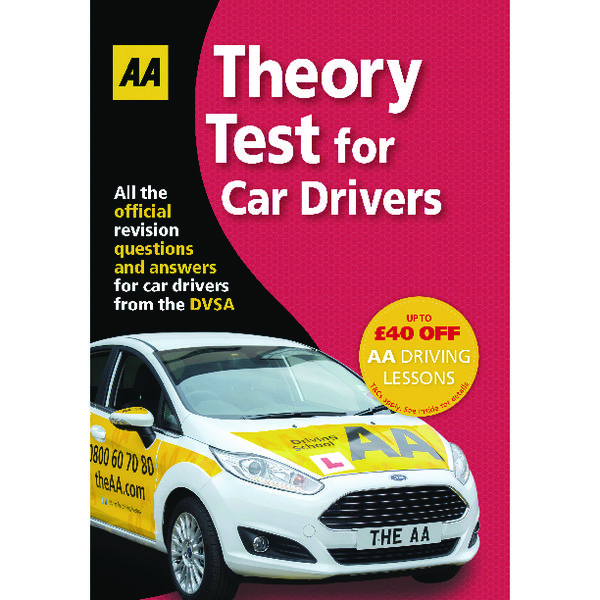 Unspecified AA Theory Test for Car Drivers Guide 9780749578381