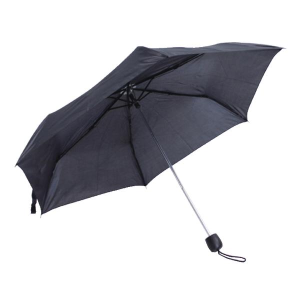 X-Brella Black Compact Umbrella CS3501B