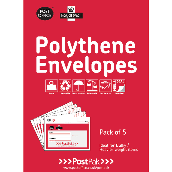 Polythene Size 5 Bubble Mailer (13 Pack) 101-3491