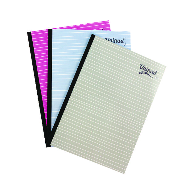 Pukka Pad Unipad Refill Pad Sidebound A4 400 Pages (9 Pack) URP200