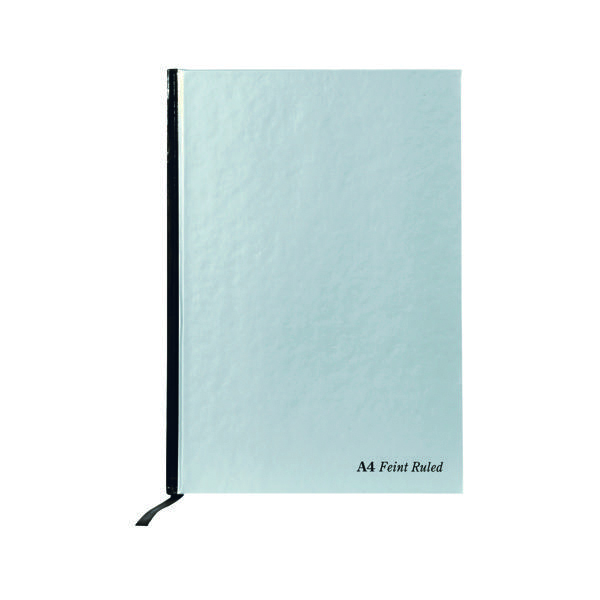 Pukka Pad Silver Ruled Casebound Notebook 192 Pages A4 (5 Pack) RULA4