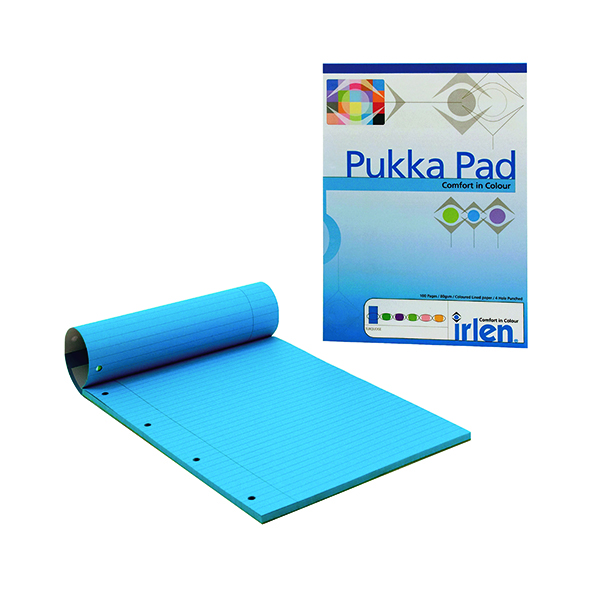 Ruled Pukka Pad Turquoise Refill Pad (6 Pack) IRLEN50