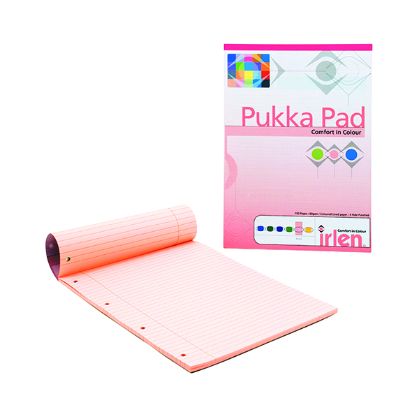 Pukka Pad Rose A4 Refill Pad (6 Pack) IRLEN50