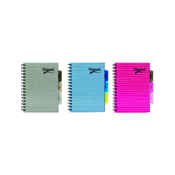 Pukka Pad Unipad Project Book A5 200 Pages (12 Pack) 6201-UNI