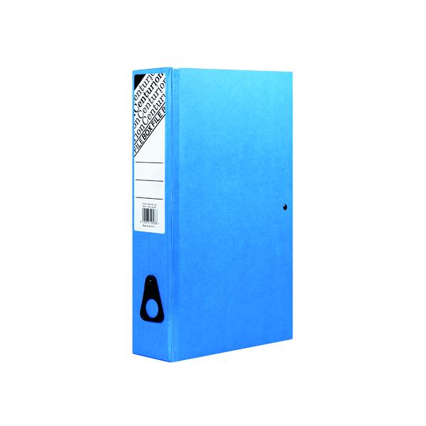 Foolscap (Legal) Size Centurion Box File Blue (10 Pack) C1278