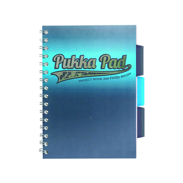 Pukka Pad Electra Jotta Project Book A5 Assorted (3 Pack) 8242-ELC