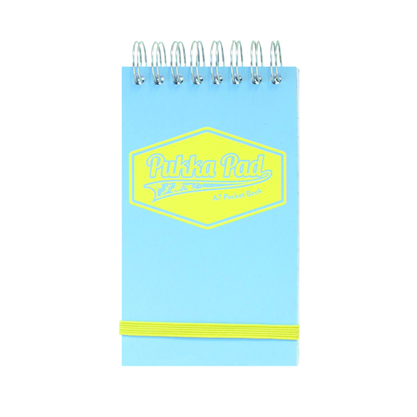 8x5in Pukka Pastel Pocket Book A7 (6 Pack) 8903-PST