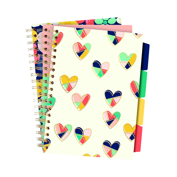 Other Pukka Floral Love Project Books B5 Assorted (3 Pack) 9033-CD