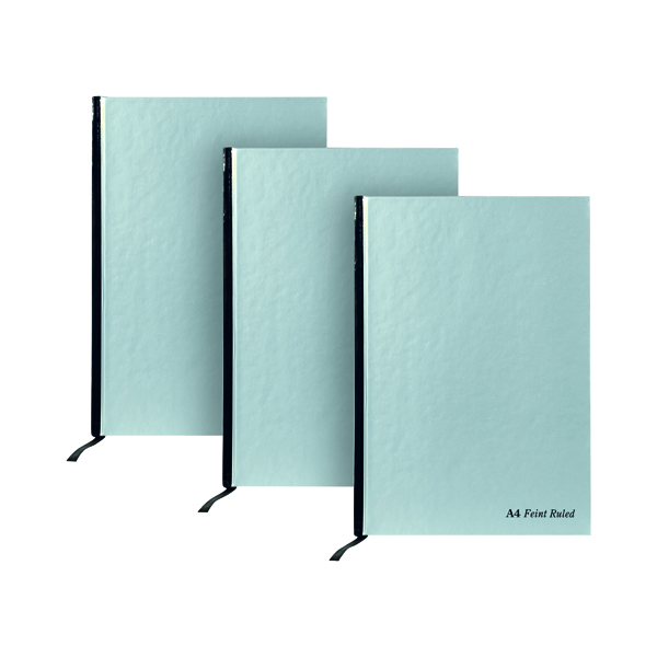 Pukka Pad Silver Ruled Casebound Notebook 192 Pages A4 (5 Pack) 3 for 2 RULA4