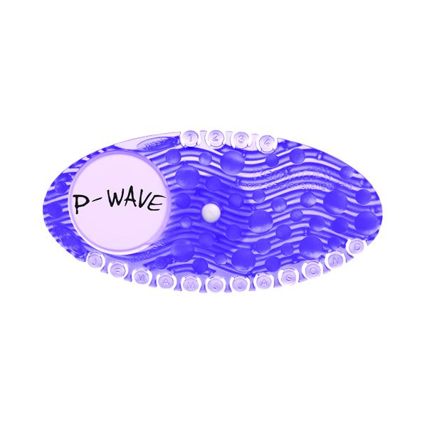P-Wave P-Curve Air Freshener Fabulous (10 Pack) WZCV60FB