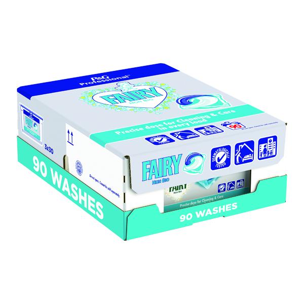 Cleaning Chemicals Fairy Professional Non-Bio Liquitab Pods (90 Pack) C001575