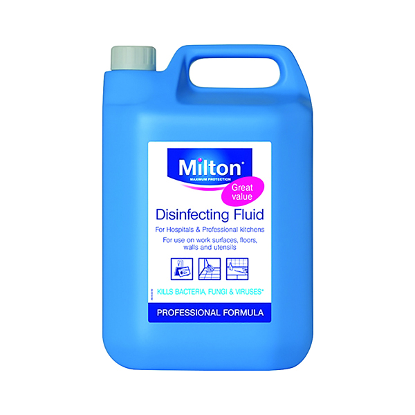 Milton Disinfecting Fluid 5 Litre 33613706946626