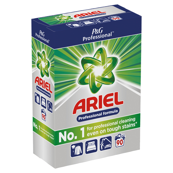 Cleaning Chemicals Ariel Biological Washing Powder 5.85kg 8001090395092