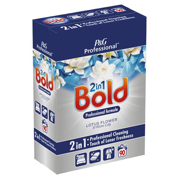 Cleaning Chemicals Bold Crystal Rain Washing Powder 5.85kg 8001090396716