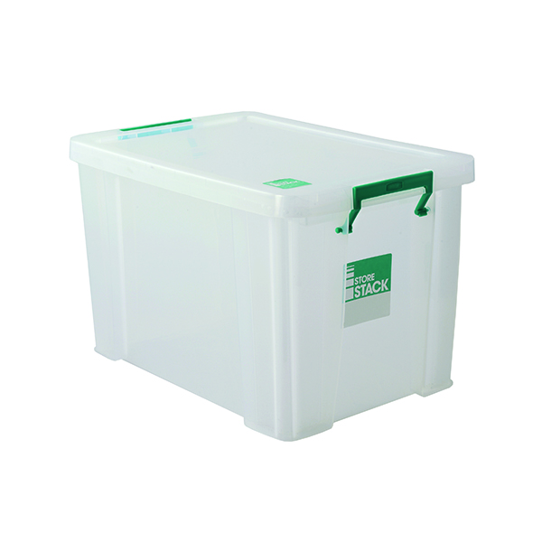 Boxes StoreStack Clear 2.6 Litre Storage Box W240 x D130 x H140mm RB00816