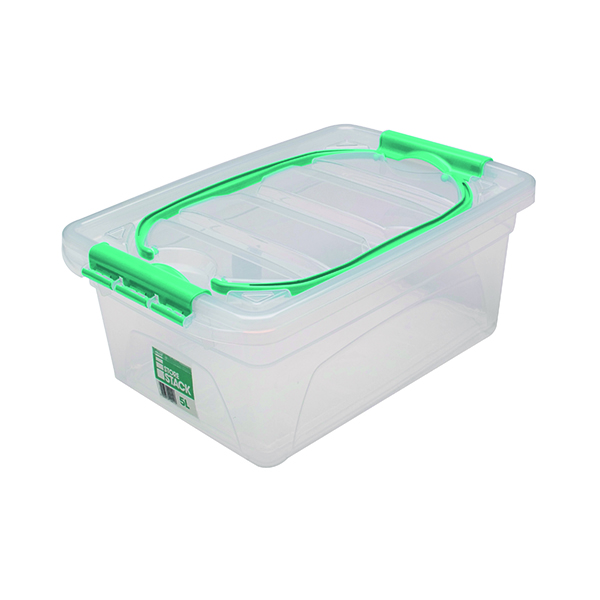 Boxes StoreStack 5 Litre W205xD310xH120mm Carry Box RB01030