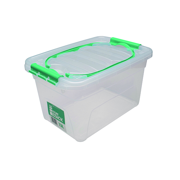 Boxes StoreStack 13 Litre W260xD380xH210mm Carry Box RB01032