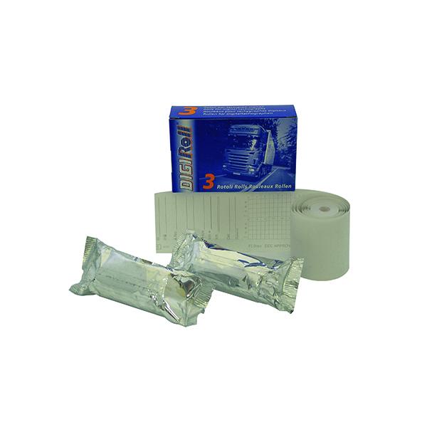 44-56mm Premier Rolls for Digital Tachograph 57mmx9.5m (3 Pack) TACOROLL