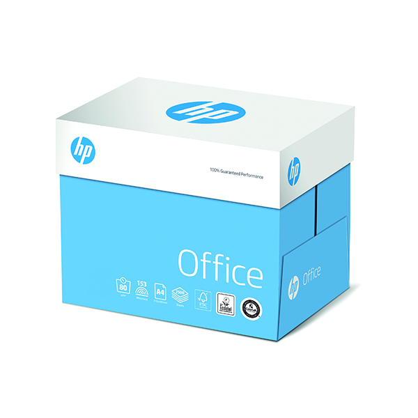 White 80gsm HP Office A4 80g QuickPack (2500 Pack) CHPOP080X741