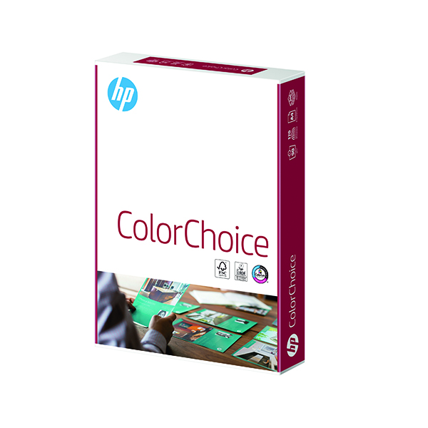 HP Color Choice LASER A4 120gsm White (250 Pack) HCL0330