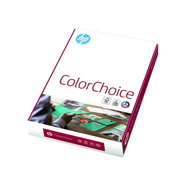 HP A4 Color Choice Paper 160gsm 250 Sheets CHPCC160X414