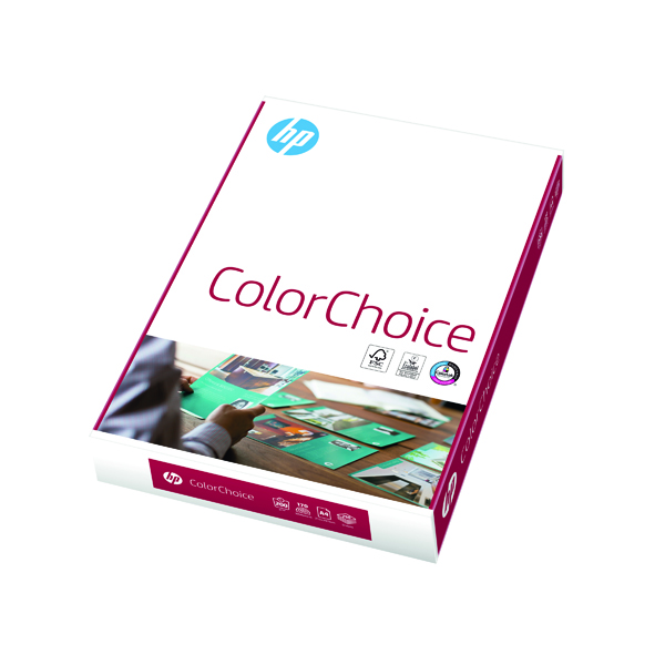 White HP Color Choice A4 200gsm (250 Pack) CHPCC200X410