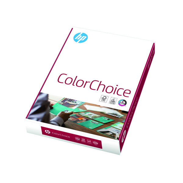 White HP Color Choice A4 250gsm (250 Pack) CHPCC250X408