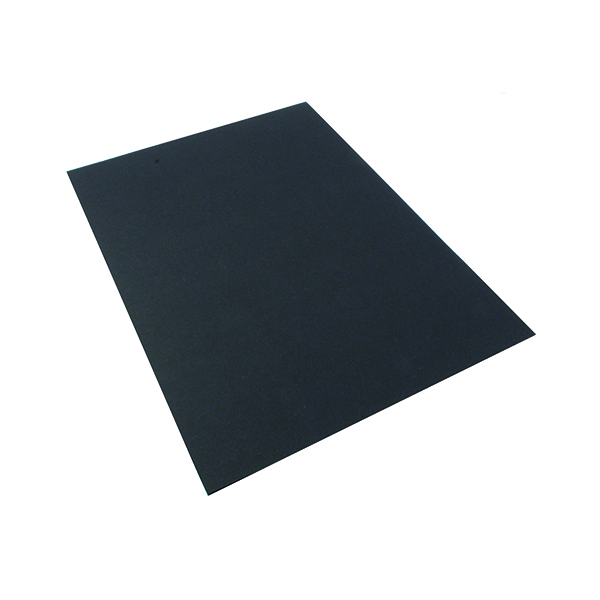 Single Colour Office A4 Black Card 210gsm (20 Pack) KHR121011