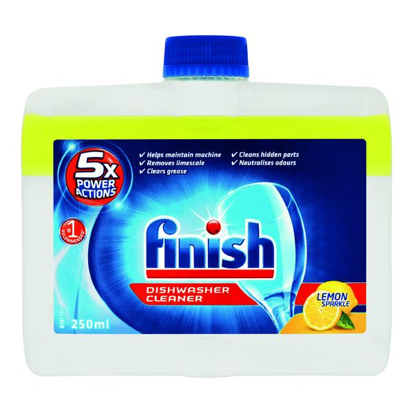 Cleaning Chemicals Finish Dishwasher Cleaner Lemon 250ml 74535