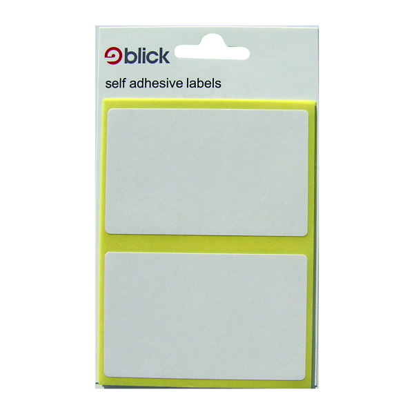 Polybags Blick White 50x80mm Label Bag (280 Pack) RS000457
