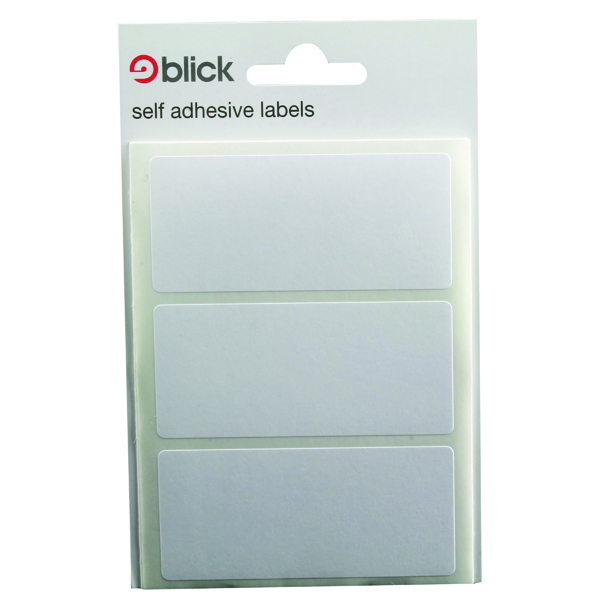Polybags Blick White Label Bag 34x75mm (420 Pack) RS003755