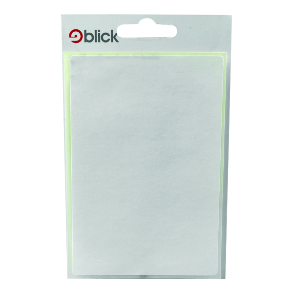 Polybags Blick White 80x120mm Labels (140 Pack) RS004059