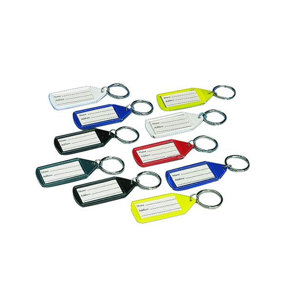 Stephens Assorted Tabbies Keyrings (10 Pack) RS046257