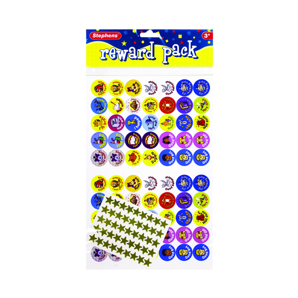 Stephens Reward Pack of Stickers (250 Pack) RS048152