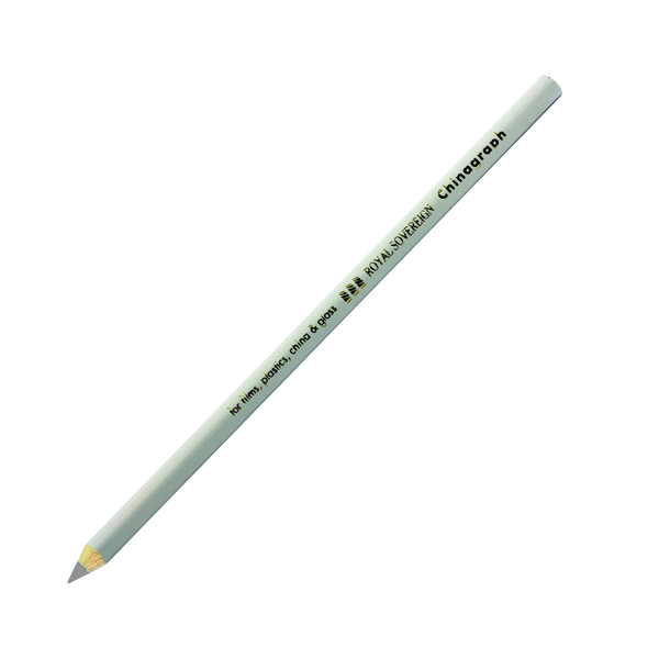 West Design White Chinagraph Marking Pencil (12 Pack) RS523055