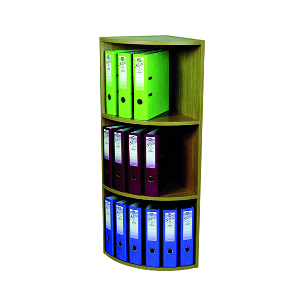 Unspecified Rotadex Corner Unit 3 Tier Light Oak CU20