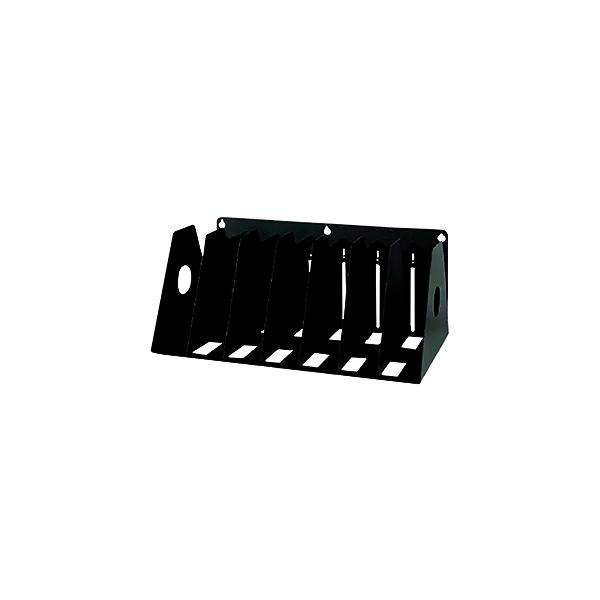 Binders/Folders Rotadex 7-Section Ring Binder Filing Unit A4 Black A4R/7