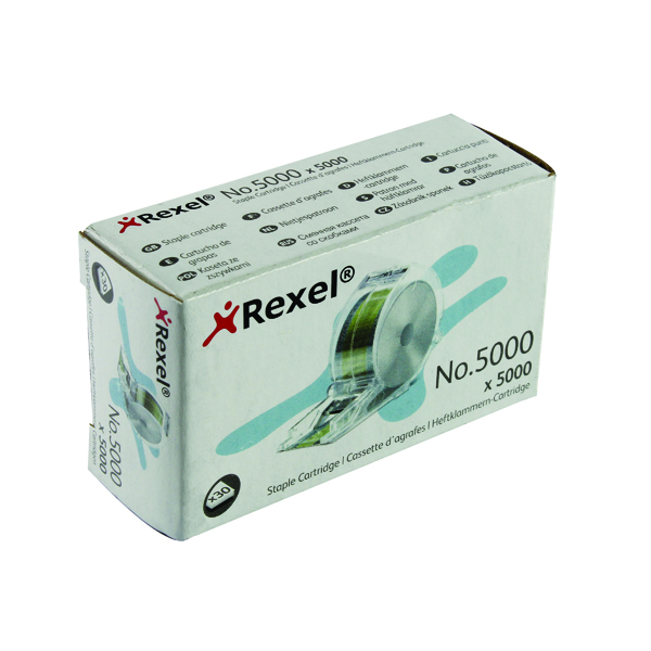 Cartridge/Cassette Rexel No. 5000 Staple Cartridge (5000 Pack) 06308